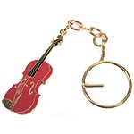 Key Chain - Red Violin