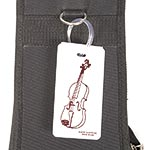 Violin Case Name Tag