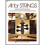 All for Strings Theory Workbook 1, Bass; Anderson/Frost
