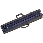 Bobelock Two German Bass Bow Cs, Zippered cover, Blue