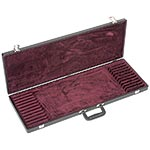 Bobelock Twelve Bow Case, Vinyl-Covered with Wine Interior