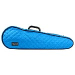 Bam Hoodies Cover for Hightech Contoured Violin Case, Blue