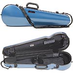 Bam Hightech Contoured 2002XLB Azure Blue 4/4 Violin Case