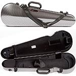 Bam Hightech Contoured 2002XLSC Silver Carbon 4/4 Violin Case