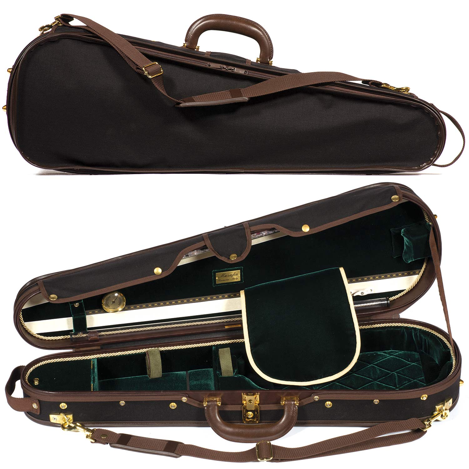 Musafia S3011 Luxury Dart Shaped Classic Violin Case With