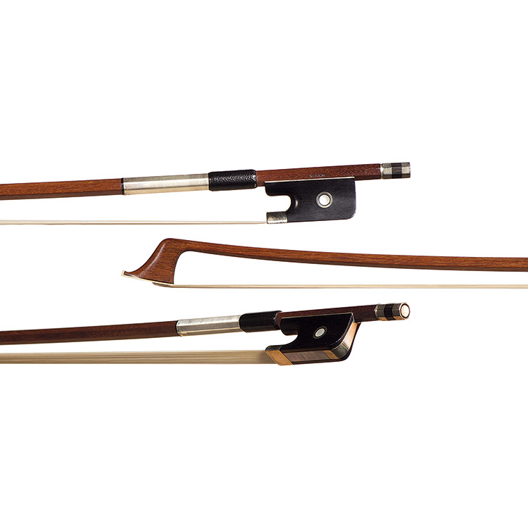 German cello bow branded W.F.K.M