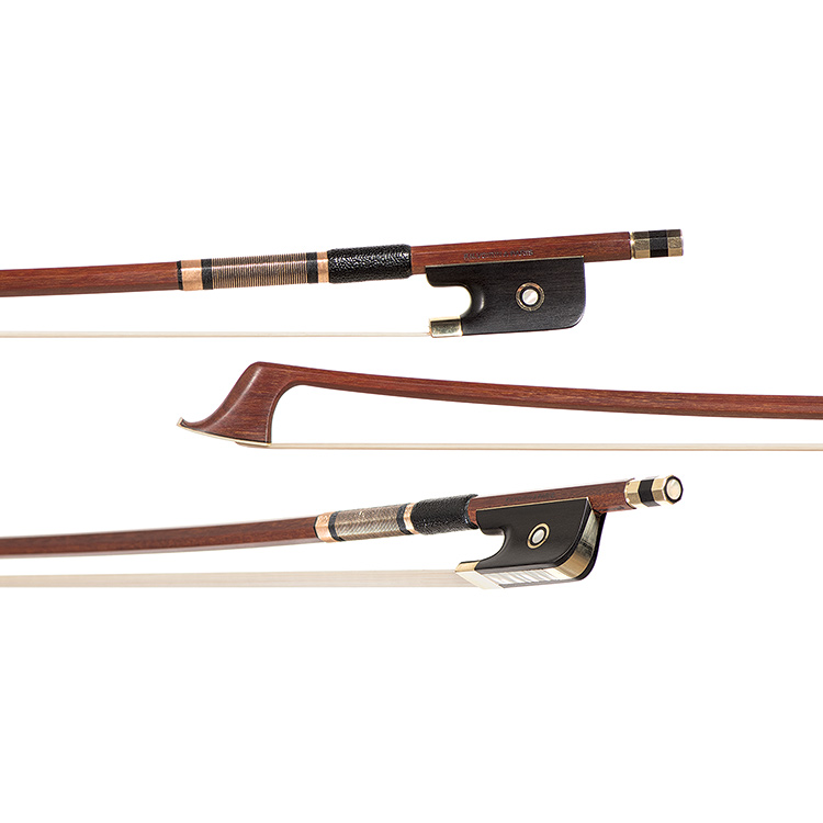 "Emil Werner cello bow branded ""Voirin"""