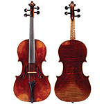 "15 7/8"" August Deroux viola, Paris 1898"
