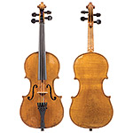 "1/2 French violin labeled ""Copie de G Grancino"", circa 1900"