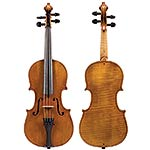 "1/2 German violin circa 1900 labeled ""Stradivarius"""