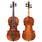 1/2 German violin, Mittenwald circa 1900