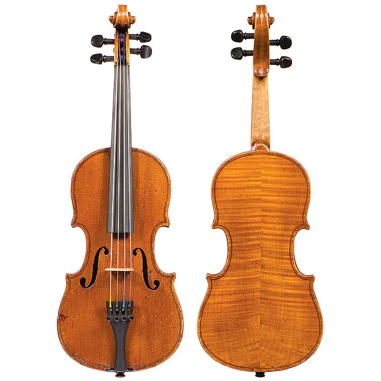 "1/8 German violin circa 1900 lbld ""Joseph Guarnerius"""