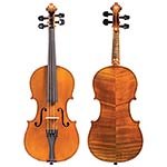 1/2 Unlabeled French violin, Mirecourt circa 1880