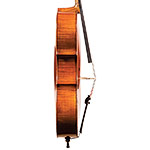 "French cello labeled ""Breton"", Mirecourt circa 1890"