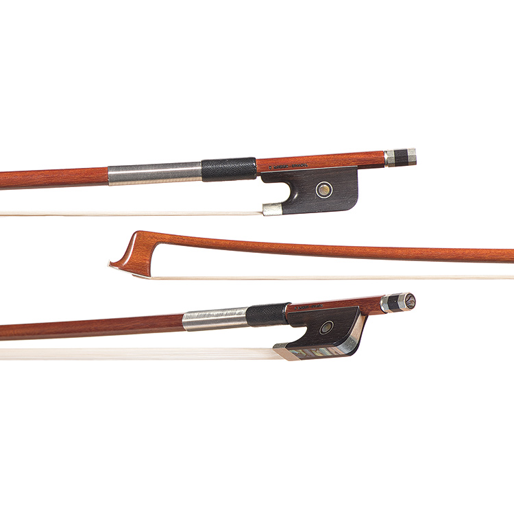 Arcos Brasil nickel-mounted viola bow