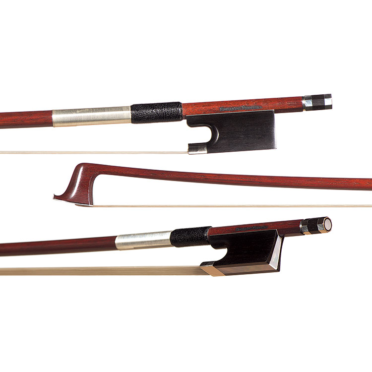 Eduardo Ferreira Nickel-Mounted Viola Bow
