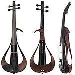 Yamaha YEV 104 Electric 4-String Violin - Black