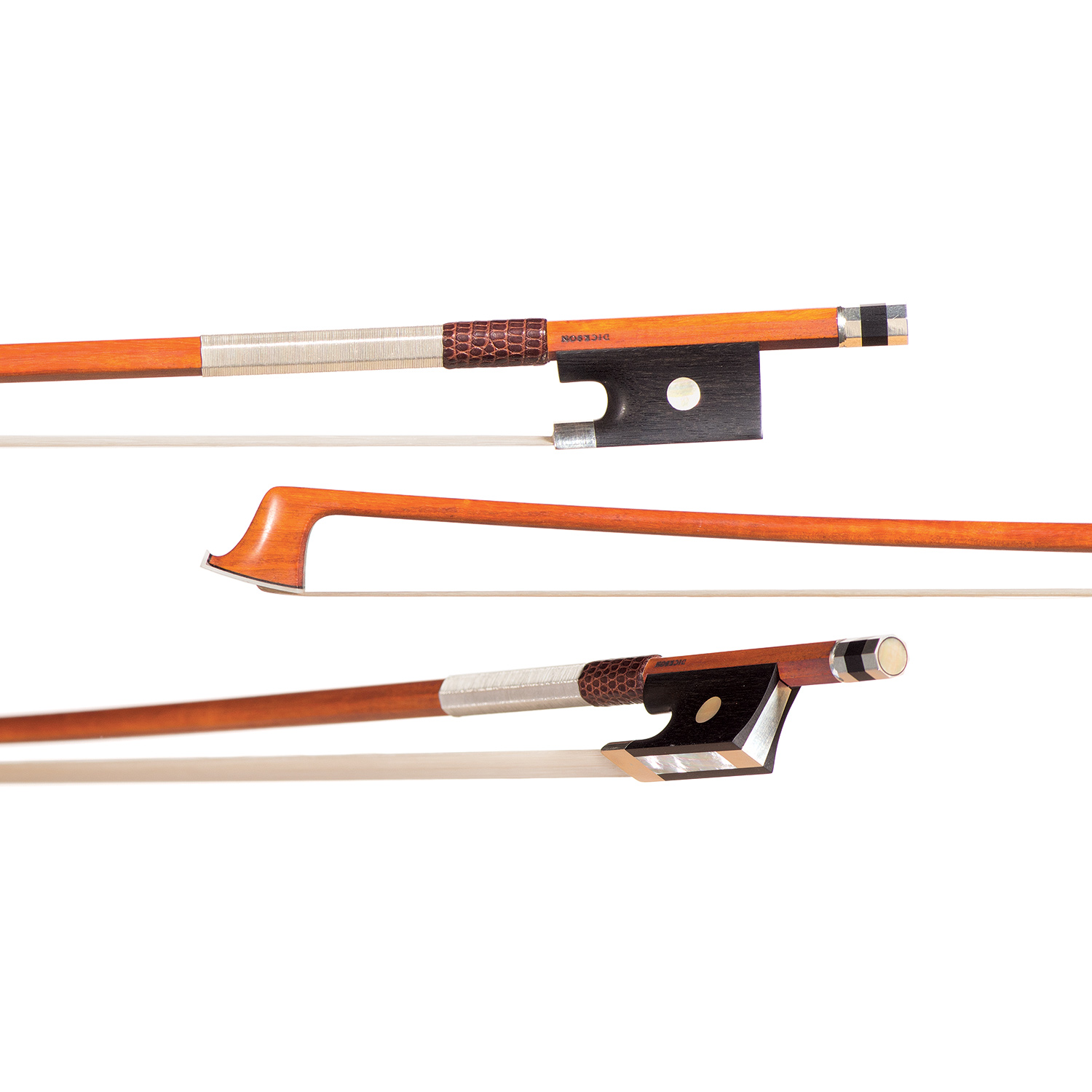 Christopher Dickson violin bow at Carriage House Violins