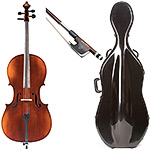 7/8 Eastman 305 Series Cello Outfit