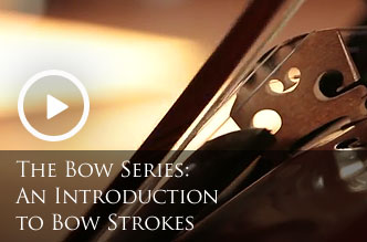 An Introduction to Instrument Bow Strokes