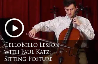 Johnson String Instrument | Carriage House Violins | CelloBello Lessons: Sitting Posture