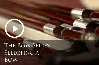 Selecting a String Instrument Bow at CHV